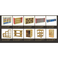 贵阳实木落地式学生置物组合储物柜