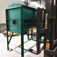 供应不锈钢干粉搅拌机 卧式螺带混合机真石漆混合机