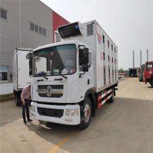 高端铝合金厢式恒温拉猪车5.2米6.8米9.6米带液压尾板拉猪车欢迎养猪企业诚信合作定制生产