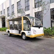荆州古城电动观光车运营项目,湖北电动观光车价格