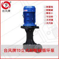 江苏TD系列耐酸碱废气塔立式泵 立式循环泵 无水空转真好用