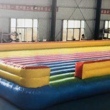 网红桥玩具下的气垫床哪买 搭配摇摆桥的亚博体育足彩app垫哪里做 网红桥防摔垫子什么价