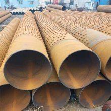 机制卷焊井壁管桥式滤水管219*7/深水井钢管报价
