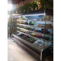 3米风幕柜水果保鲜柜串串保鲜柜仟曦饮料展示柜多少钱一米