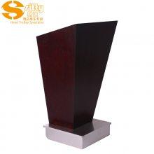 专业生产SITTY斯迪95.9011-1实木方形演讲台\咨客台\接待台
