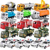 儿童玩具合金声光工程车模型车模工程回力车男孩玩具车
