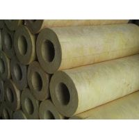 厂家直销防火岩棉管 管道专用岩棉保温管材