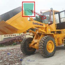 LiuGong/柳工ZL30E鏟車前擋板玻璃 柳工30鏟前防風玻璃