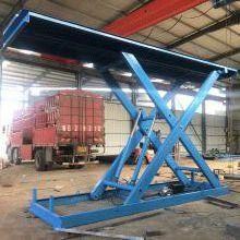 天津山东厂家液压固定式剪叉式升降平台 定制生产大吨位剪叉式结构固定式升降机 厂家定制