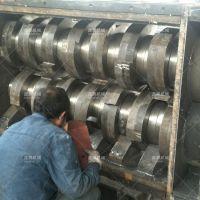 金属撕碎机是利用装在机壳内刀片剪切挤压来破碎物料的机械
