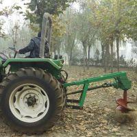 专业植树机 效率多型号大型悬挂式挖坑机