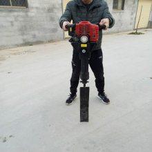新款链条挖树机 手提式大马力挖树机 新款链条轻便起树机