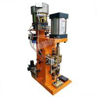 【鲲鹏】生产气压式振动盘自动雨刷器铆钉机 雨刮片铆钉机