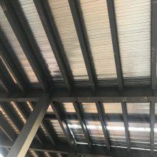 510型闭口楼承板_山东闭口楼承板厂家_齐鲁石化热电厂项目选用的闭口楼承板规格型号