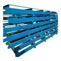 石子链板输送机耐高温 水平式链板输送机视频生产厂家