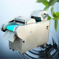 亚博国际真实吗机械 电动环保切菜机 双刀头切菜机 萝卜切丁机图片 湖南海带切丝机价格