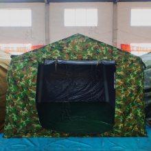 陆军演习指挥帐篷野战迷彩会议帐篷联队户外住宿帐篷厂家
