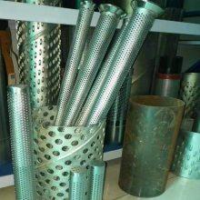 打井螺旋钢管273mm滤水管/螺旋机井钢管滤水管市场价格