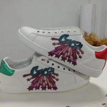 皮革PU鞋面鞋子图案打印机 定制3d成品鞋uv喷绘机