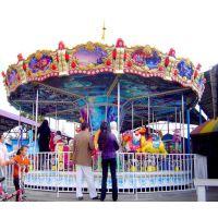 广场儿童游乐设备,豪华转马,旋转木马,简易转马