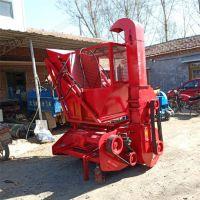 青贮玉米秸秆回收机 青饲料粉碎收获机 二次除尘秸秆回收机厂家