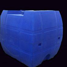 2000升方型卧式运输罐 2吨甲醇柴油储存罐 港诚 两千升化工桶 三轮车拉水罐