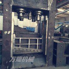 800吨大型龙门剪视频 大型废钢铁龙门剪 钢筋槽钢龙门剪