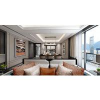 天古装饰巴南别墅装修案例|阳光100阿尔勒现代风格设计效果图
