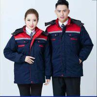 西安夹克衫定做-定做工作服-西安工程服定做-工作服厂 男女 反光防护工装