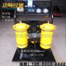 LYC-100B 双桶精细滤油机移动式过滤机液压油润滑油净化除杂