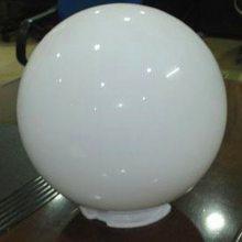 大型户外发光家具PE灯罩外壳 球形白色塑料灯罩 PC吹塑灯罩模具K