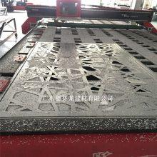 氟碳镂空铝板装修_包柱镂空铝板德普龙