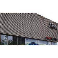 澳洋奧迪汽車4S店外牆裝飾闆網@海安奧迪汽車4S店外牆鋁合金闆裝飾闆網