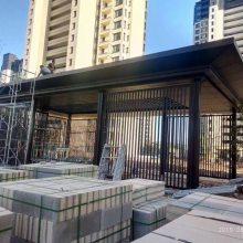 小区中庭雨棚铝板 遮阳棚铝板 飘蓬装饰铝板