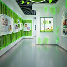生命科技展馆创新实践基地文化馆展厅设计 展厅设计接待区灯光布置及照明