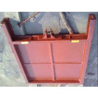 渠道闸门 渠道铸铁闸门0.3米 一体式铸铁闸门厂家直销