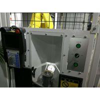 发动机活塞CNC加工中心自动上下料机器人生产线|一对三车床上下料机械手