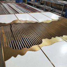 ***售楼部装饰花格,不锈钢订制屏风厂家