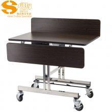 专业生产SITTY斯迪90.8319SQA钢木客房送餐车/折叠移动送餐车