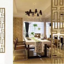 北京不锈钢屏风酒店装饰厂家直销