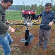 种树专用挖坑机 螺旋式种植挖坑机 汽油立柱打孔机型号