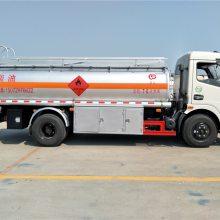 8吨东风多利卡油罐车厂家,湖北随州加油车,楚胜加油车价格