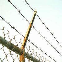 镀锌刺绳厂家 刀片刺绳围栏 刺钢丝