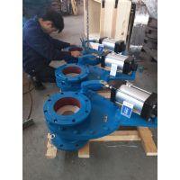 法兰陶瓷摆动式进料阀生产厂家