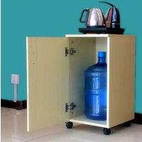 河北茶水柜 厂家办公室茶柜 简约现代水桶柜 上水器柜 饮水机柜