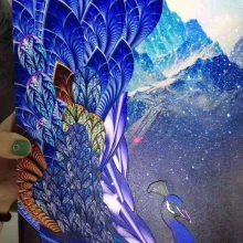 有框画万能打印机 卧室装饰画UV平板打印机 性感油画UV打印机