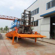 物流装卸辅助升降设备 英大机械 集装箱卸货平台 移动式登车桥