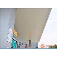 石化加油站包柱铝圆角-加油站白色包边铝材
