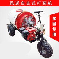 佳诚机械自走式汽油风送式打药机 果树专用防虫喷雾机