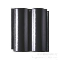 厂家供应:博冠陶瓷屋面彩瓦、连锁瓦、全瓷全角屋面瓦、平面瓦